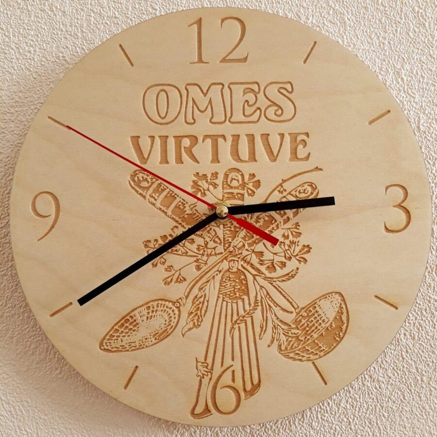 Sienas pulkstenis - Omes virtuve