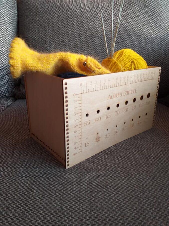 Dzijas kastīte - lielā