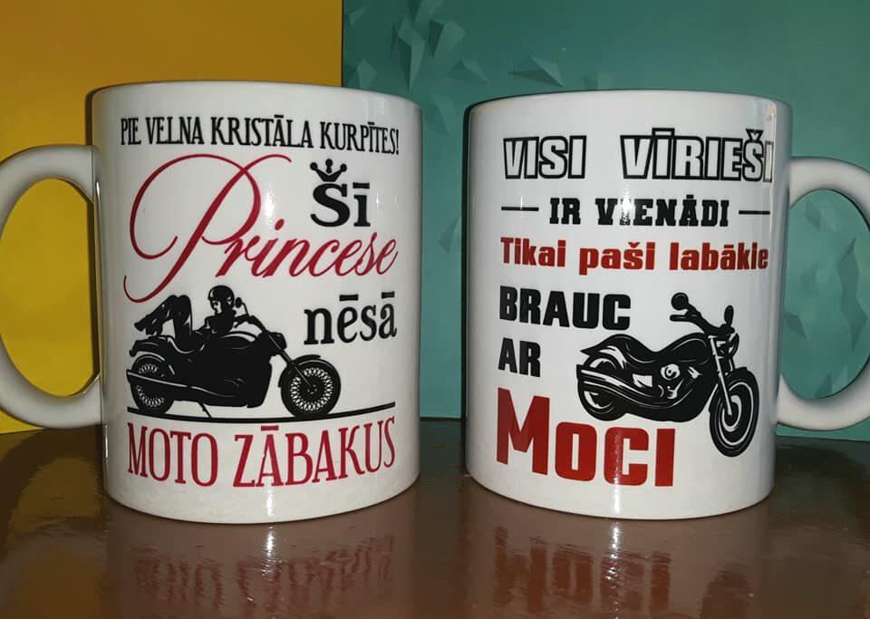 Krūzīte - Moto