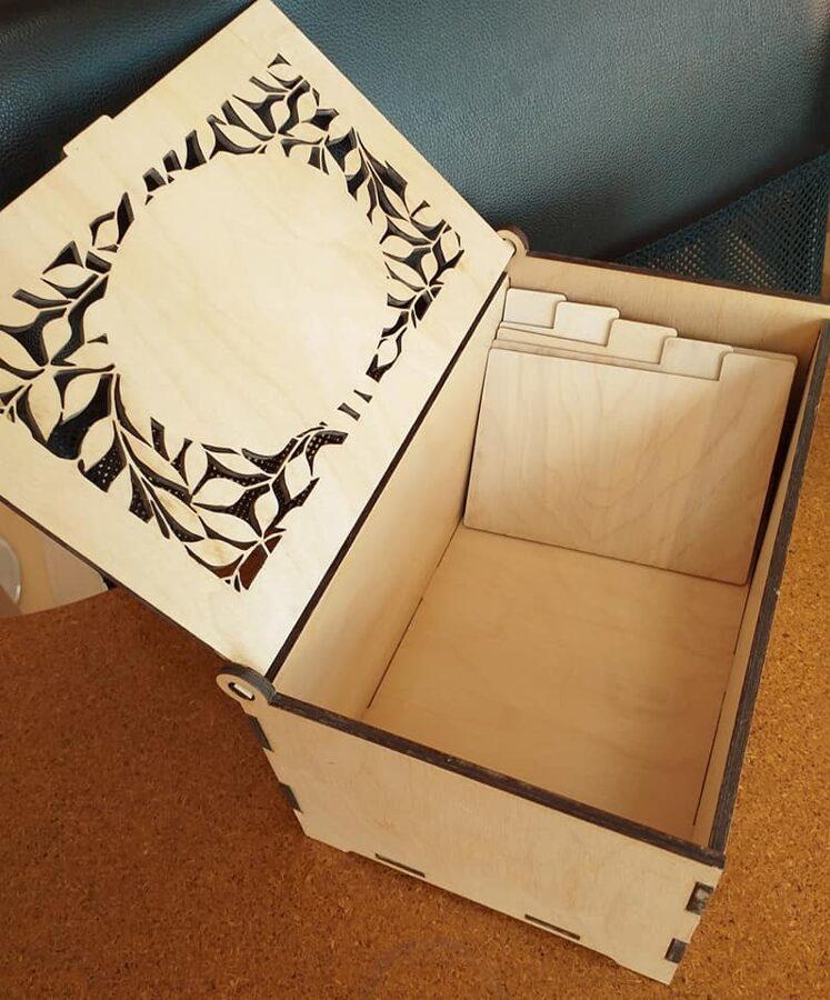 Personalizēta kastīte/organizators sēklu paciņām