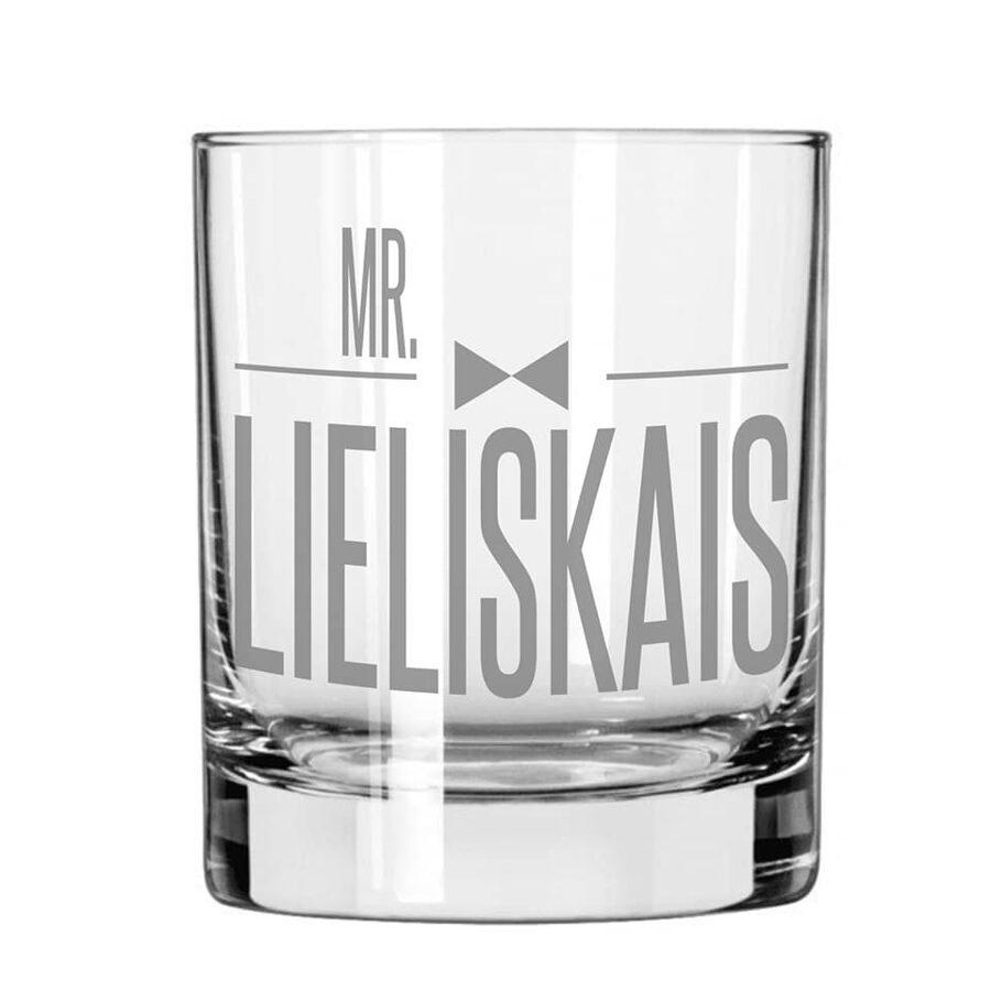 Viskija glāze - Mr. Lieliskais