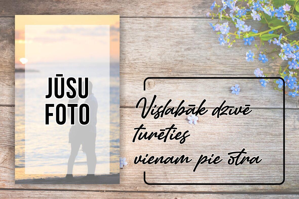 Kanva ar Jūsu foto 30x40cm