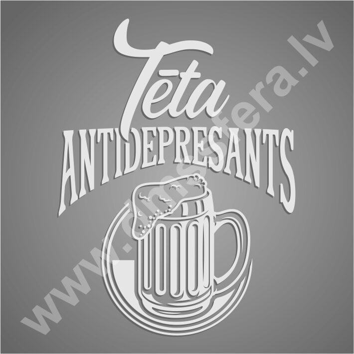 Alus kauss - Tēta antidepresants