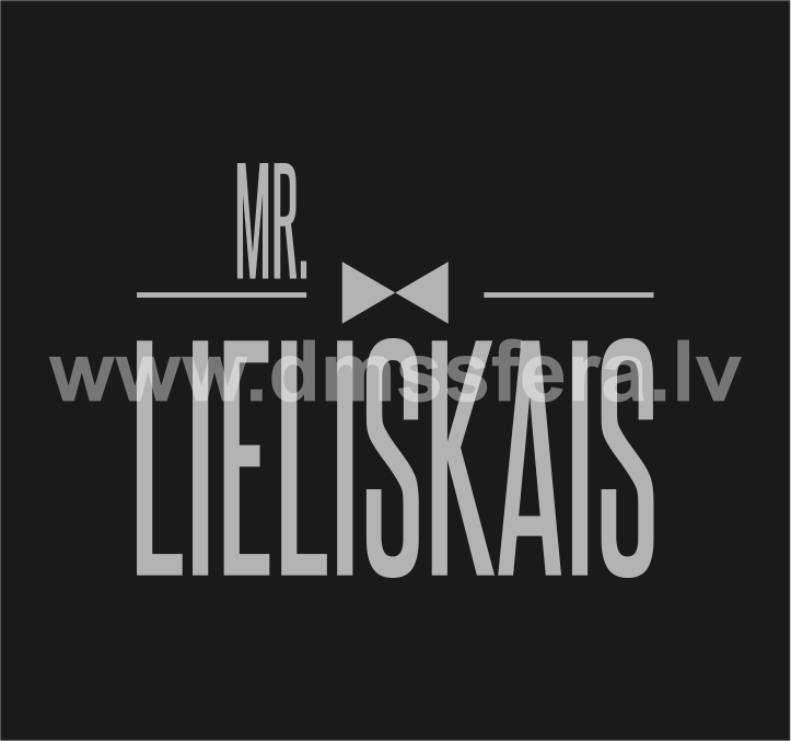 Blašķe Mr. Lieliskajam