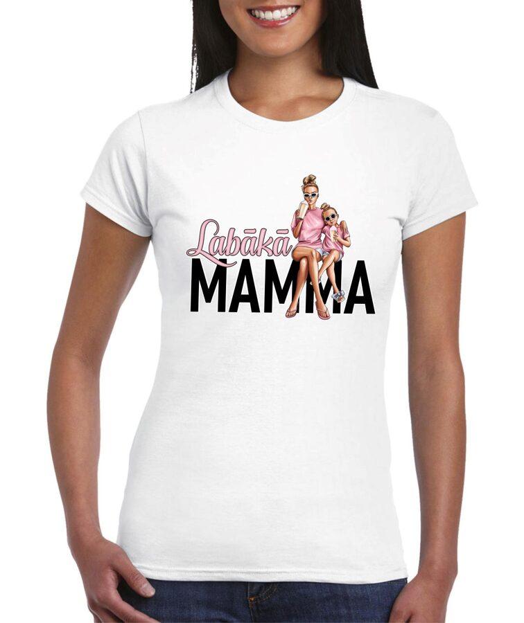 T-krekls Labākā mamma