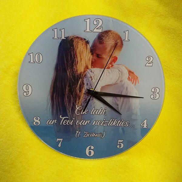 Jūsu foto - sienas pulkstenis