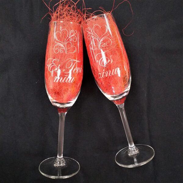 Šampanieša glāžu komplekts