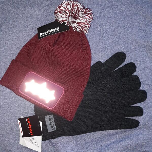 Komplekts - cepure un cimdi