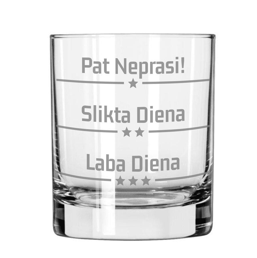Viskija glāze - Garastāvokļa mērītājs